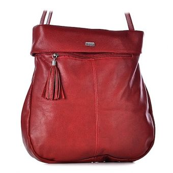Damska torebka listonoszka skórzana pojemna Felicita