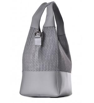 Skórzana torebka włoska shopper MODICA
