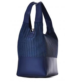 Włoska torebka skórzana shopper MODICA