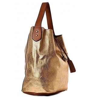 Złota torebka na Sylwestra Goldie