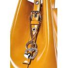 Stylowa żółta torebka skórzana Adela