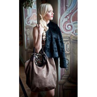 Skórzana torba damska shopper Bageria