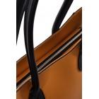 Szare torebki damskie na ramię Flavia