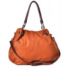 Skórzana torba damska elegancka torebka Cristina