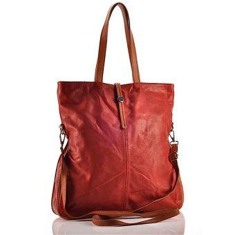 Skórzana torebka damska Carla