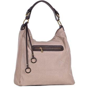 Skórzana torebka damska Carmela