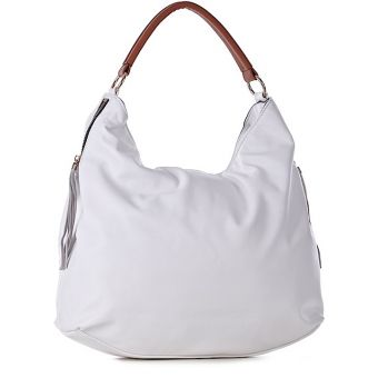 Damska torebka pojemna na ramię eko skóra Scarlet