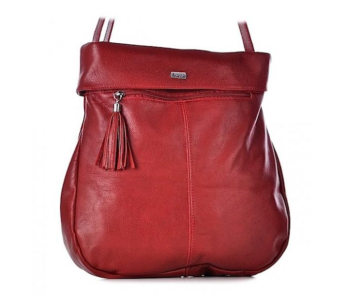 f35965d98f8ce Włoska torebka skórzana czerwona