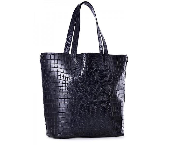 0329c60375949 Włoska torebka skórzana shopper Adriana
