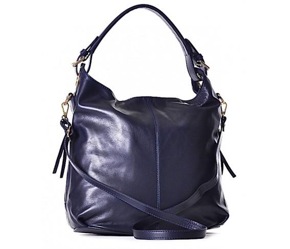 Skórzana torebka włoska FLAVIA