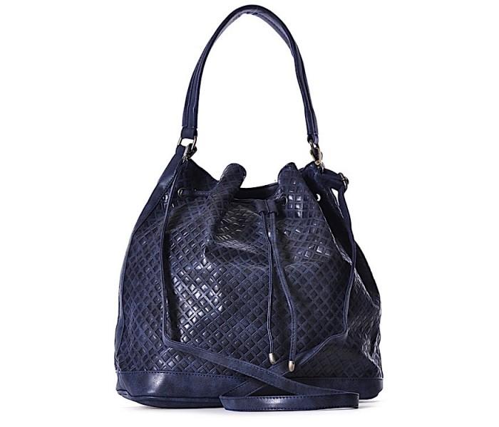 312927a208fc3 Granatowa torebka damska na ramię modna