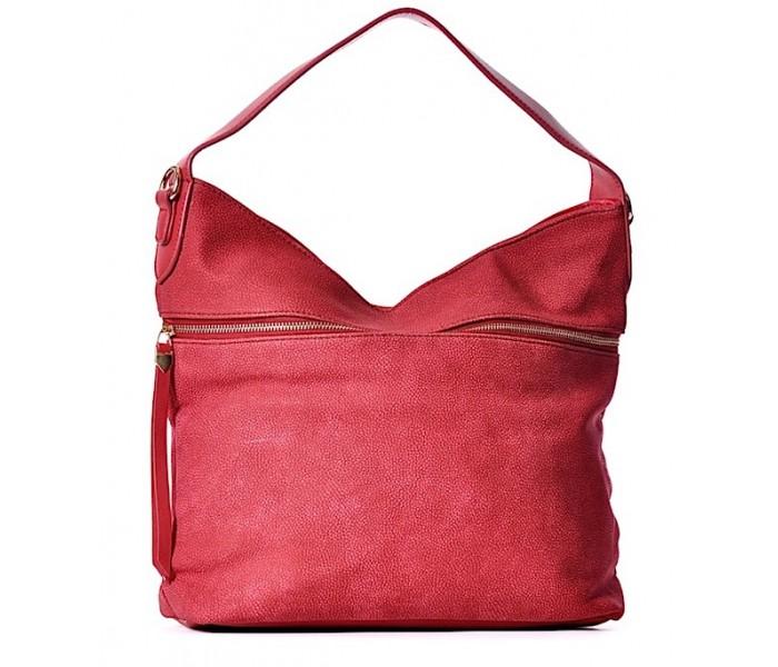 16df0621b3aae Torba XXL damska worek na ramię czerwona