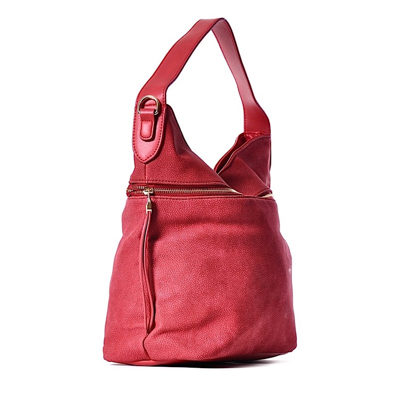 09394a038f172 Czerwona torebka na ramię BIBIANA · Czerwona torebka na ramię BIBIANA ...