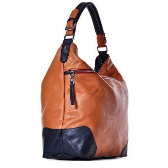 Duża torebka damska z kieszeniami DAISY