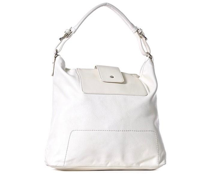 7a12bbb5f0632 Biała torebka damska na ślub moda torebka. TOREBKA z eko skóry na ramię  MARTINA