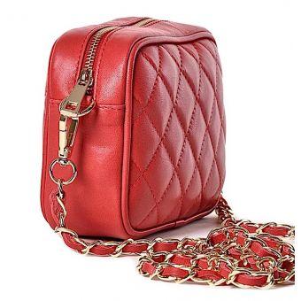 Pikowana torebka listonoszka Fifi