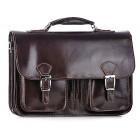 Skórzana torba męska na laptopa aktówka Tivoli