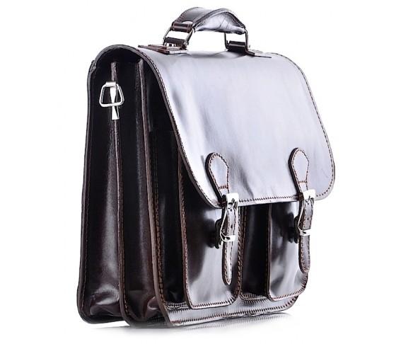 Skórzana torba męska na laptopa TIVOLI