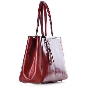 Kuferek damski skórzany elegancki Luxia