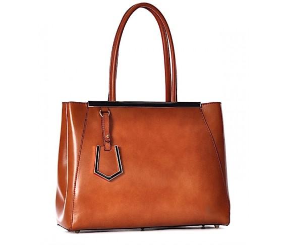 Kuferek damski skórzany Luxia elegancka