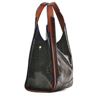 Stylowa torebka damska motyw pytona Federica