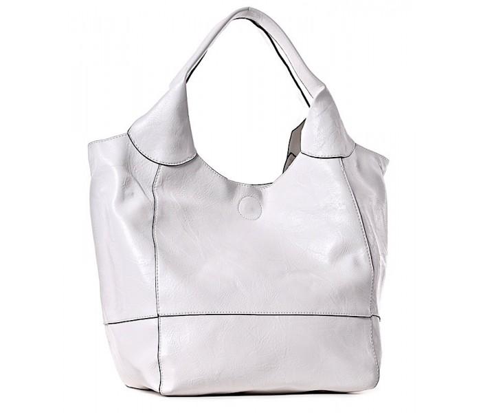 5b14bf659fd44 Biała torebka damska na ramię na lato