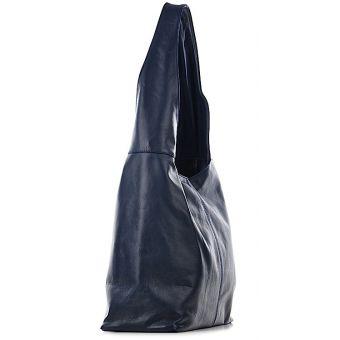 Skórzana torba damska worek Zina