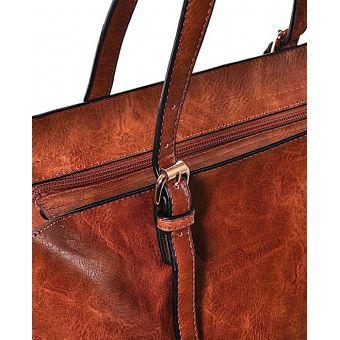 Koniakowa torba damska shopper Florance