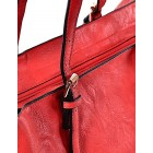 Czerwona torba damska shopper Florance