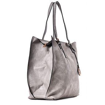 Szara torba damska shopper Florance