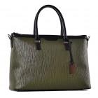 Stylowy kuferek damski torebka skórzana Teresa