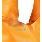 Włoska torba skórzana worek Zina
