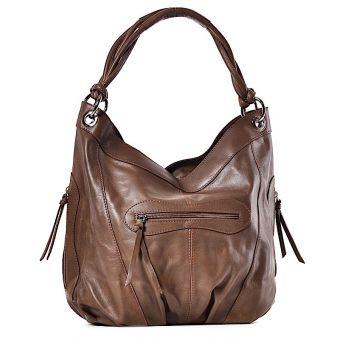 Skórzana torebka damska Dafne