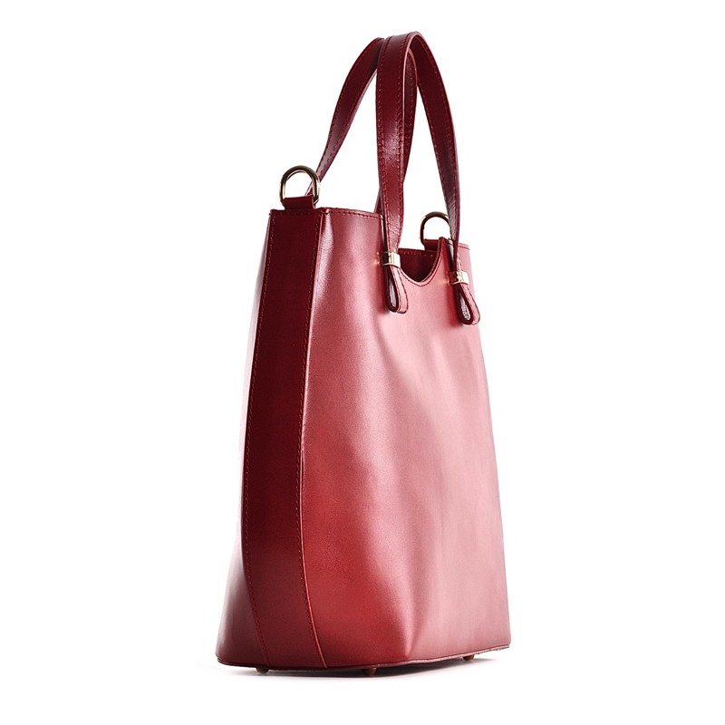 e8be555a3e7c1 Czerwona torebka damska shopper Patrizia; Czerwona torebka damska shopper  Patrizia ...