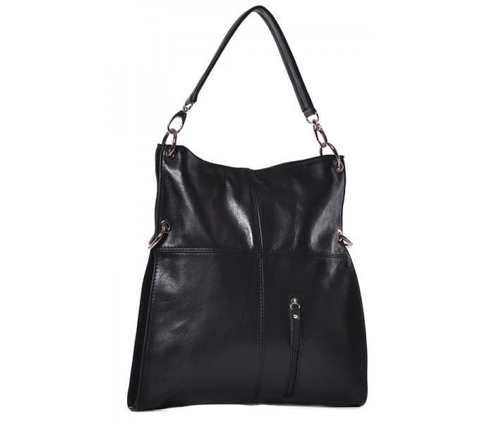 Czarna torebka damska na ramię Charme