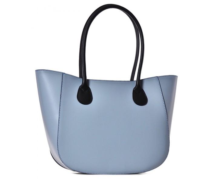 Niebieska torebka damska skórzana Bageria