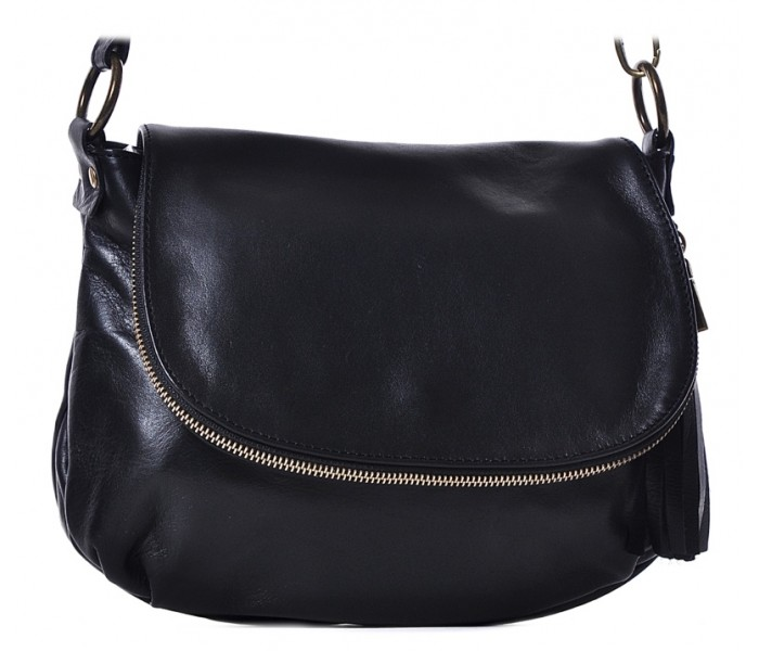 befa35e8f Mała czarna torebka damska listonoszka