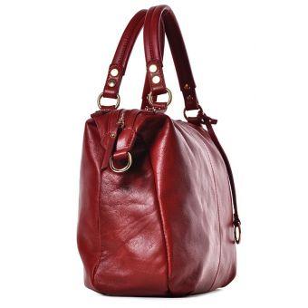 Skórzana torba damska do ręki Amina