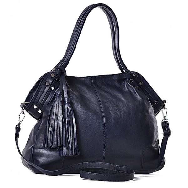 Włoska torba damska skórzana worek Cristina