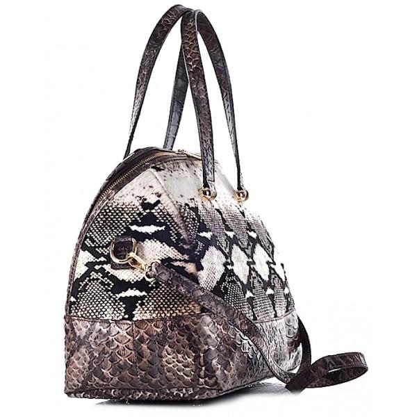 Elegancki kuferek damski skórzany Siena