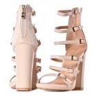 Buty damskie na lato sandały damskie beżowe