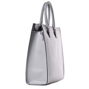 Skórzana torba damska w biznesowym stylu