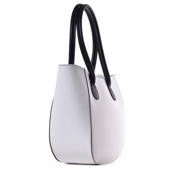 Biała torba damska na lato shopper