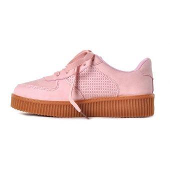 Buty sportowe damskie pudrowy róż