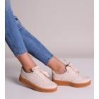 Sportowe obuwie damskie beżowe