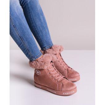 Różowe buty damskie sportowe