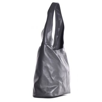 Skórzana torba damska worek na ramię