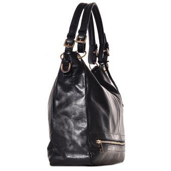 Czarna elegancka torebka damska