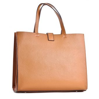 Włoska torebka kuferek a4 skóra naturalna