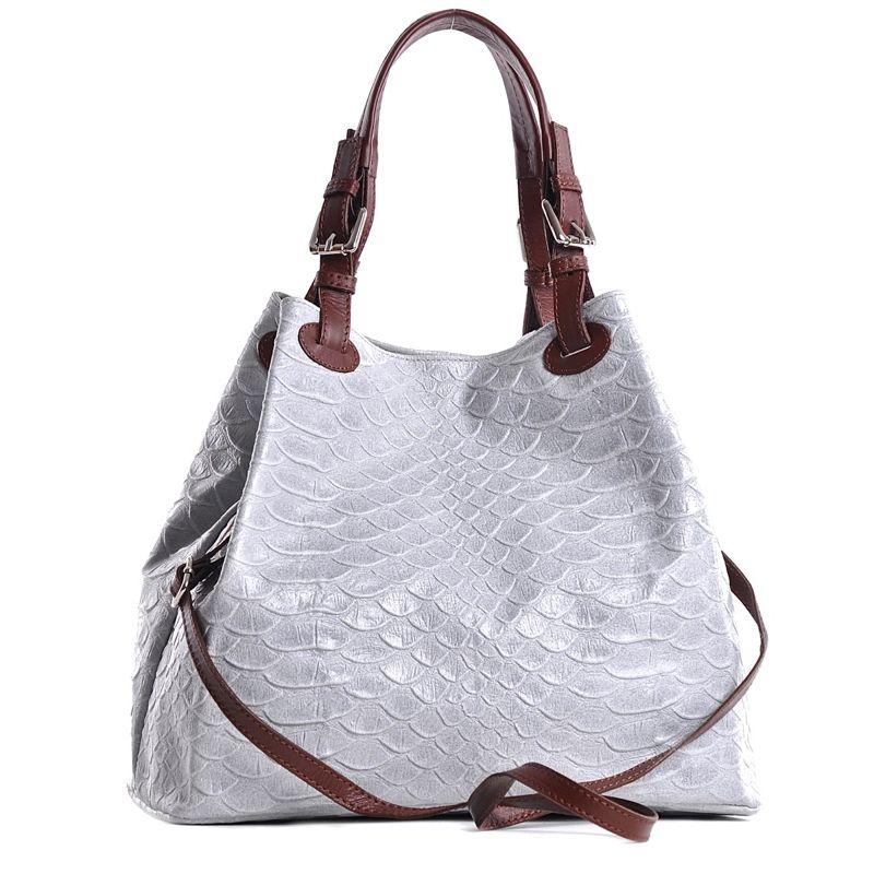 unikatowe na ramię, torebki - torba damska typu worek emma